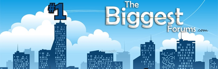 TheBiggestForums.com - The Biggest, Largest, Best, Most Popular Forums and Message Boards Top List on the Internet.